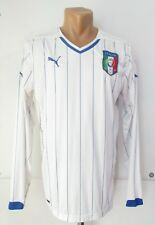 Italy 2014/2015 Away Football Shirt Soccer Jersey Maglia Calcio Long Sleeve Puma