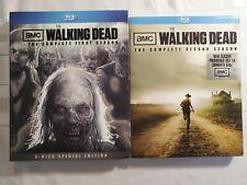 The Walking Dead - Season 1 special edition and season 2 (Bluray) DVD AMC drama