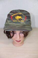 Buffalo Gap I & E Texas Camo Snapback Baseball Trucker Cap Hat