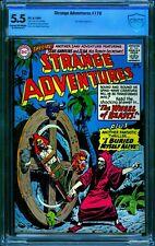 Strange Adventures #179 CBCS 5.5 (CGC peer) -- 1965 -- Buried Alive. Sparling