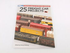 Model Railroader 25 Freight Car Projects Paperback