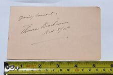 sir Thomas Beecham autograph , signed album page conductor