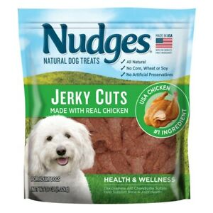 Nudges Natural Dog Treats Jerky Cuts Made With Real Chicken 36 oz
