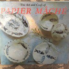 The Art and Craft of Papier Mache (Art & Craft) by Bawden, Juliet Book The Fast