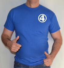 Camisetas de hombre de manga corta azul Gildan
