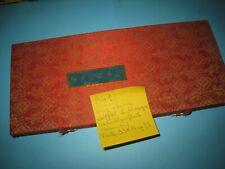 un coffret plaqué tissus contenant 66 mini masques origine chine lot N°B41