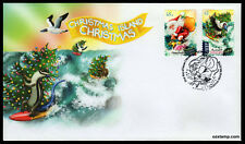 2018 Christmas Island Embellished S/A *Unissued* FDC Stamps Australia