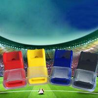 10x Sport Referee Whistle Manmade Plastic EDC fox40 Soccer Football Basketball