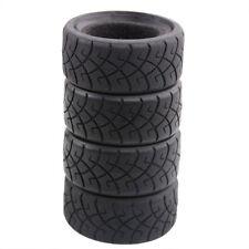 "RC 1/10 Model On-Road Car 1.9"" Rubber Tires 4Pcs insert sponge T6090"