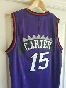 Kids/Youth Toronto Raptors #15 Vince Carter Throwback PURPLE Jersey M