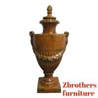 Large Italian Regency Ceramic Vase Urn French A
