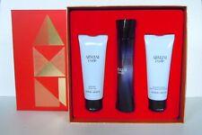 Giorgio Armani Code pour Femme 50ml Eau de Parfum +75ml BL +75ml SG Duftset NEU