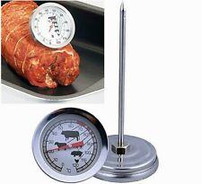 Edelstahl Bratenthermometer Fleischthermometer Braten zubereiten Huhn Fleisch