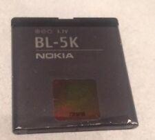Genuine Nokia BL-5K 1200 mAh Batteria Per Nokia C7-00 N85 N86 8MP ORO X7-00 701