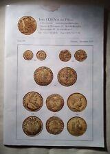 Jean Elsen & ses Fils Catalog Rare Coins Auction December 2019 /96 pages