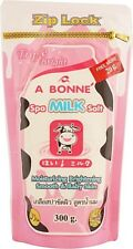 A Bonne Spa Milk Salt Smooth Whitening Skin Moisturizing Exfoliating Scrub 320g