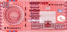 Bangladesh 2006 billet neuf de 10 taka pick 39Aa UNC