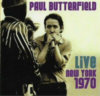 Paul Butterfield - Live New York 1970 (2016)  2CD  NEW/SEALED  SPEEDYPOST