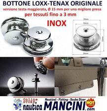 BOTTONE LOXX TENAX FEMMINA 15MM TESSUTO TELO CAPOTTINA PRESSIONE NAUTICA BOTTONI
