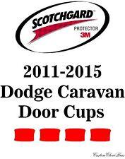 3M Scotchgard Paint Protection Film Pre-Cut Kits 2011 2015 Dodge Grand Caravan