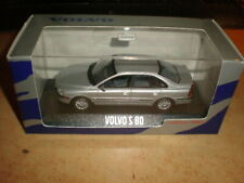 Minichamps 1/43  Volvo S80  silver metalic    Mint in dealerbox
