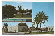 La Siesta Motel Casa Grande Arizona postcard