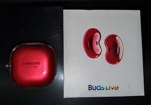 Samsung Galaxy Buds Live Mystic Red