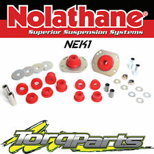 NOLATHANE FRONT CONTROL ARM/STRUT ROD BUSH KIT SUIT HOLDEN COMMODORE VY NEK1