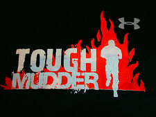 RARE UNDER ARMOUR TOUGH MUDDER RUN GYM Womens Unisex S Cool Sports Fitted Top