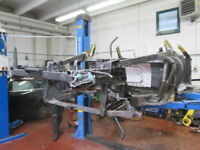 Ferrari 360 Coupe' F1 Shell Frame Sectioned - Parts of Car Body