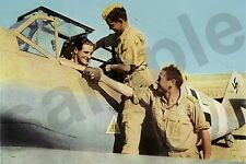 aviation art luftwaffe pilot photo colour HANS JOACHIM MARSEILLE JG 27 Me 109