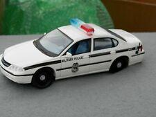 Maisto 2000 Chevy Impala Military Police Car 1/24th Lot #2