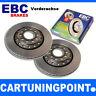 EBC Brake Discs Front Axle Premium Disc for Porsche Cayman d1904d