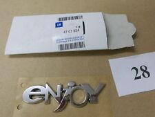 """Emblem/Logo """"ENJOY"""" Vordertür Opel AGILA A MERIVA A 4707934 original OPEL"""