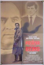 A PRAYER FOR THE DYING FF ORIG 1SH MOVIE POSTER MICKEY ROURKE BOB HOSKINS (1987)