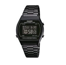 Casio Vintage B640WB-1ADF Black Steel Digital Watch