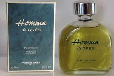 Homme De Gres By Parfums Gres Eau De Toilette Spray 2.53 oz in Box SEALED
