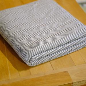 Kaschmir Decke Weiß Grau Luxus Wohndecke 145x280 Kuscheldecke Geschenk