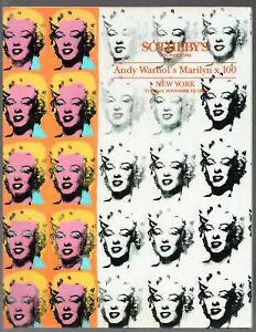 Andy Warhol's Marilyn x 100 SOTHEBY'S 1992  Contemporary Pop Art Marilyn Monroe