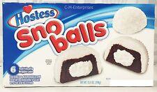 Hostess Sno Balls Coconut & Marshmallow Cakes 10.5 oz