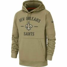 2019 New Orleans Saints Mens NFL Nike Salute to Service Hoodie (L)