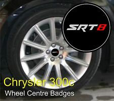 Chrysler 300 C logo SRT8 Roue Centre Badge Emblems
