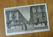 CARTOLINA CATANIA VIA ETNA VIAGGIATA DEL 1922 SUBALPINA HH