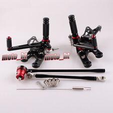 Adjustable Rearset Rear Set Footpegs for Honda CBR 600 RR 03-06 & 1000RR 04-07