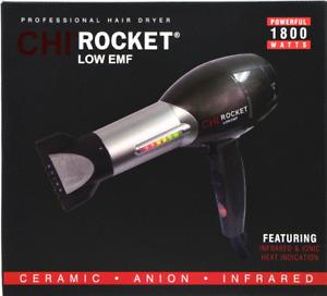 CHI Rocket Low EMF Professional 1800 Watt Hair Dryer