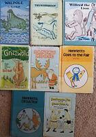 Set of 8 Syd Hoff Children's Books Vintage!