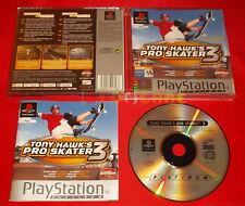 TONY HAWK'S PRO SKATER 3 Ps1 Versione Ufficiale Italiana Platinum ○ COMPLETO