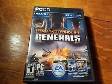 Command and Conquer Generals Deluxe Edition/Zero Hour (PC, 2003) FREE SHIPPING!