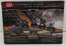 NEW SEALED~WORLD OF WARCRAFT MINIATURES GAME~STARTER SET~EVERTHING 4-2-2 PLAY!