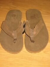 NEW TEVA OLDTOWN MENS FLIP FLOP SIZE 7 COFFEE LIQUEUR